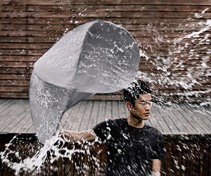 The Rain Shield, The Umbrella Gets a Makeover