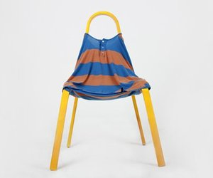 FITTING:  Clothes Chair by Kim Xerock