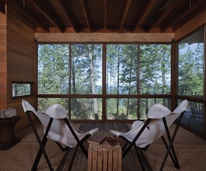 Flathead Lake Cabin, Montana by Andersson-Wise