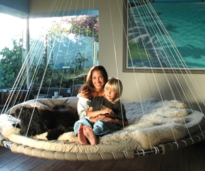 Floating Bed, Indoors or Out