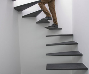 Floating Staircase by Feedback-Studio