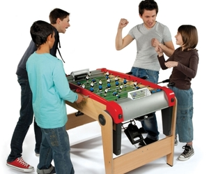 Foldaway Foosball Table