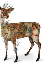 Frederique Morrel, Life is a Biche, 2010.  Mixed Media-