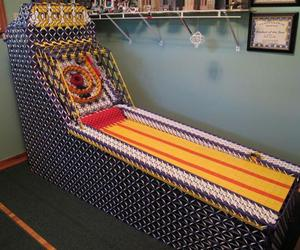 Fully Operational K'NEX Skeeball Machine