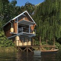 Fully-recyclable-and-sustainable-prefab-cottage-s