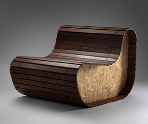 Furniture from Reclaimed and Recovered Materials by Gruba