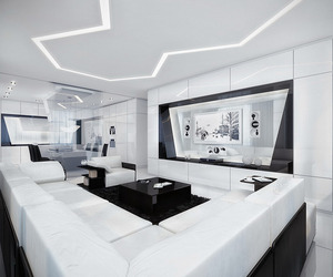 Futuristic-black-and-white-apartment-by-geometrix-m