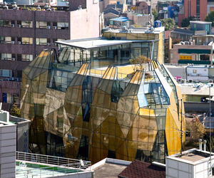 Gem-inspired-yellow-diamond-building-m