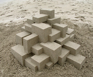 Geometric-sandcastles-by-calvin-seibert-m