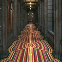 Geometric-tape-flooring-by-jim-lambie-s