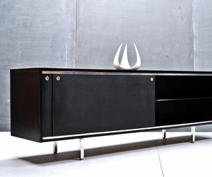 George-nelson-herman-miller-modern-black-credenza-m