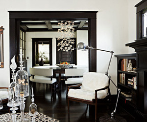 Glamorous Foursquare Home | Jessica Helgerson Interiors