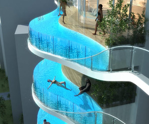 Glass-balcony-pools-at-aquaria-grande-tower-m