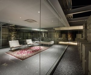 Glass House in Hiroshima by NAF Architect