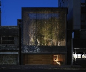 Optical Glass Wall House by Hiroshi Nakamura