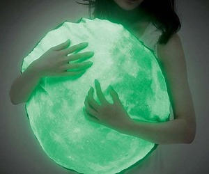Glow In The Dark Moonlight Pillow