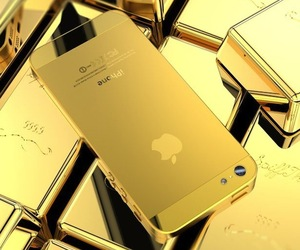 Golden-iphone-5-housing-m
