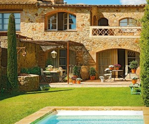 Gorgeous Rustic Vacation Retreat in Spain by Nuri Vidal
