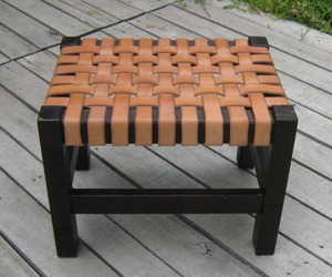 Handcrafted-woven-leather-and-wood-frame-ottoman-m