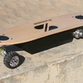 Hands-free-electric-skateboard-by-zboard-s