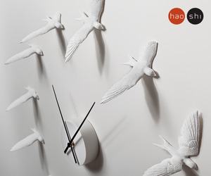 Swallow Wall Clock by Haoshi Design
