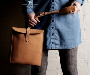 Hard Graft's OldFashioned Leather Bag For IPads
