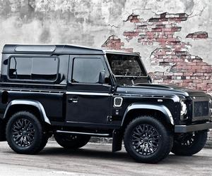 Harris Tweed Land Rover Defender