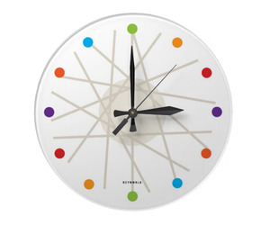 haywire wall clock by dzynwrld