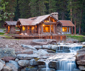 Headwaters Camp in Montana by Dan Joseph Architects
