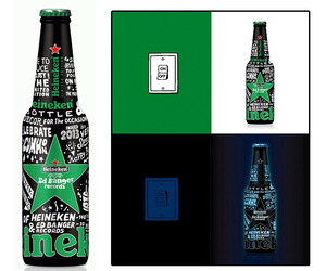Heineken X Ed Banger Limited Edition Bottles