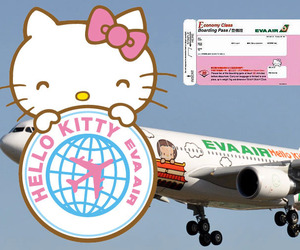Hello Kitty Branded Air Travel