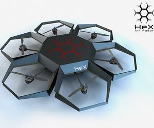 Hex-air-robot-m