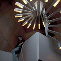 Highly-original-spiraling-staircase-with-integrated-lighting-s
