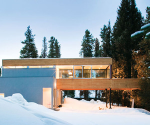 Hiller Residence in the Rocky Mountains | Michael P. Johnson