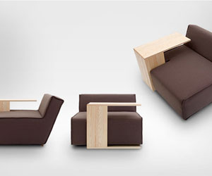 Hocky Sofa by Marcin Wielgosz for Merely