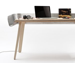 Homework table by Tomas Kral for Super-ette 