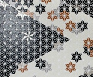 Hoshi, Interlocking Porcelain Mosaic Tile