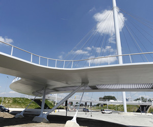 Hovenring  Circular Cycle Bridge by ipv Delft
