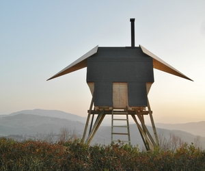 Huginn Muninn, Outdoor Sauna by Atelier Forte 