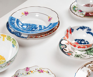 """HYBRID"" Handcrafted Dinnerware by CTRLZAK for SELETTI"