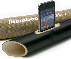 iBamboo Acoustic Speaker for Apple iPhone