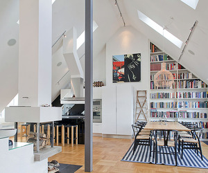 Impressive Attic Penthouse in stermalm, Stockholm