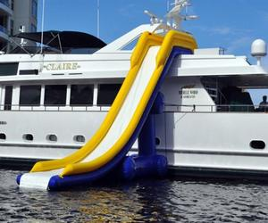 Inflatable Yacht Water Slide by Freestyle Cruiser