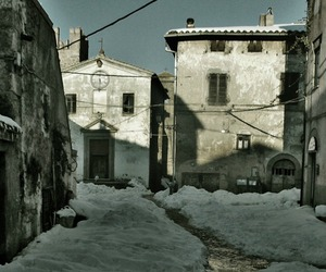 Into the snow: Calcata e Faleria (VT)