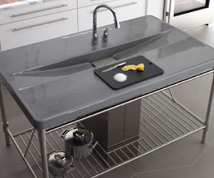 Iron/Occasions island sink by Kohler