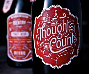 """ It's the Thought that Counts "" by No Entry Design"