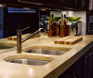 J. Aaron Concrete Countertops and Sinks