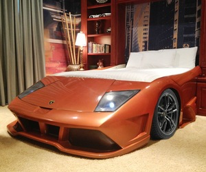 Jake's Chop Shop Lambo-Style Bed