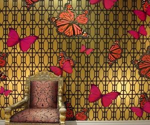 Jamie-adlers-butterflies-wall-covering-for-your-glam-dwell-m