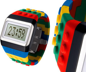 JC/DC Pop Hours LEGO Digital Watch